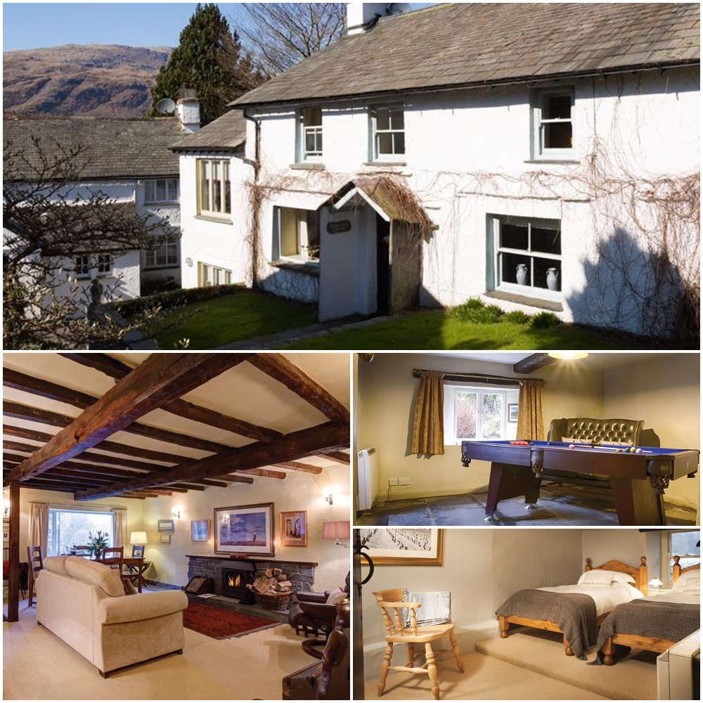 beautiful self catering 400 year old cottage for 4 Coniston Lake District