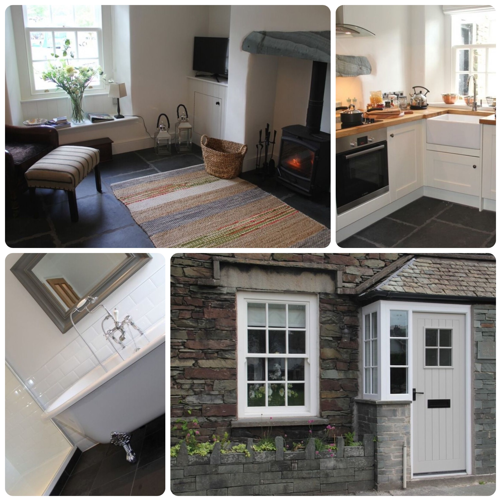 Traditional Lakeland Cottage right in the heart of the beautiful village of Grasmere. Previous guests have loved the style and quality of the interior furnishings too