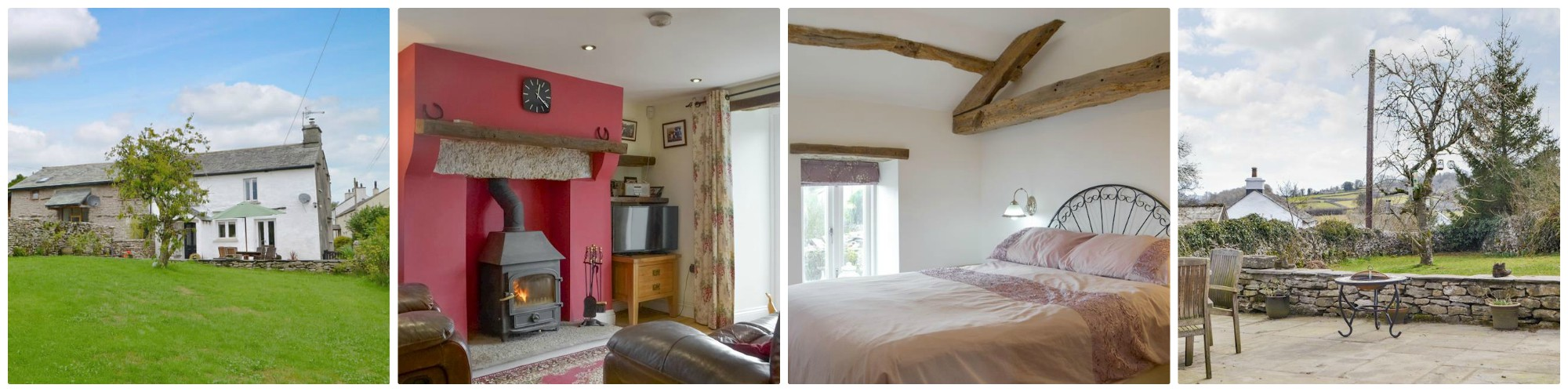 sleeps 5 with wood-burning stove - five complimentary passes to local leisure facilities including Jacuzzi