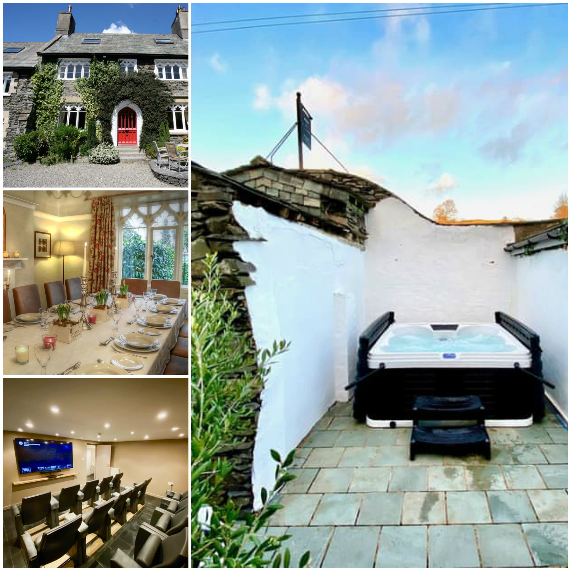 Sleeps 14 - pet friendly in Windermere with a private Hot Tub