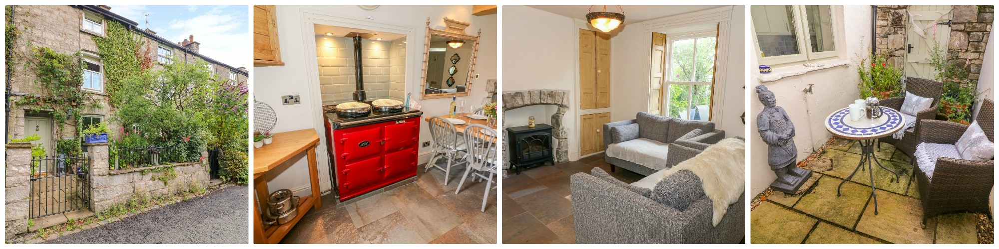 sleeps  four - Kendal holiday cottage right in the heart of the historic market town