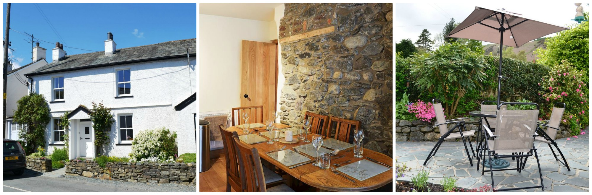 Catbells is a great mix of old and new - exposed stone walls and feature bedroom fireplaces add character to the modern updates and is a Visit England 4 star property