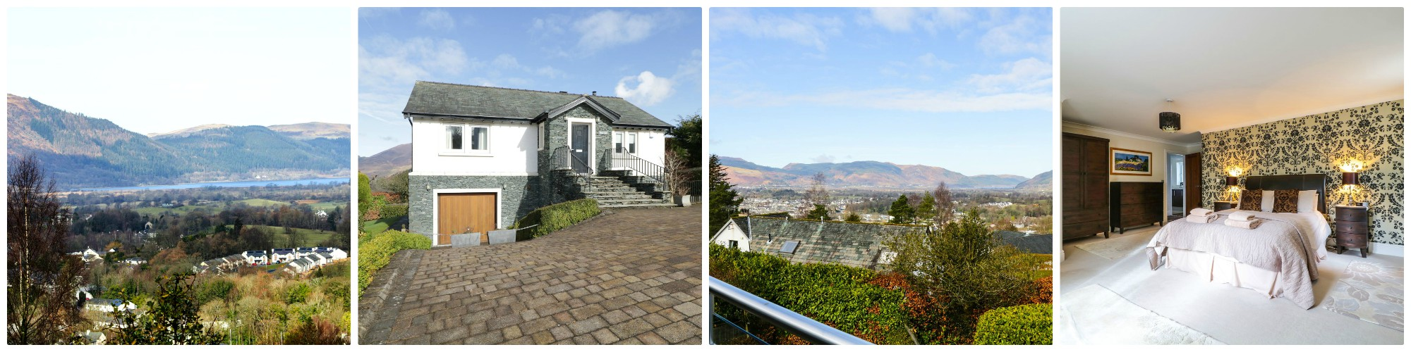 Exceptional opportunity to have these stunning views to Bassenthwaite Lake and walkable  from the centre of Keswick - sleeps 8