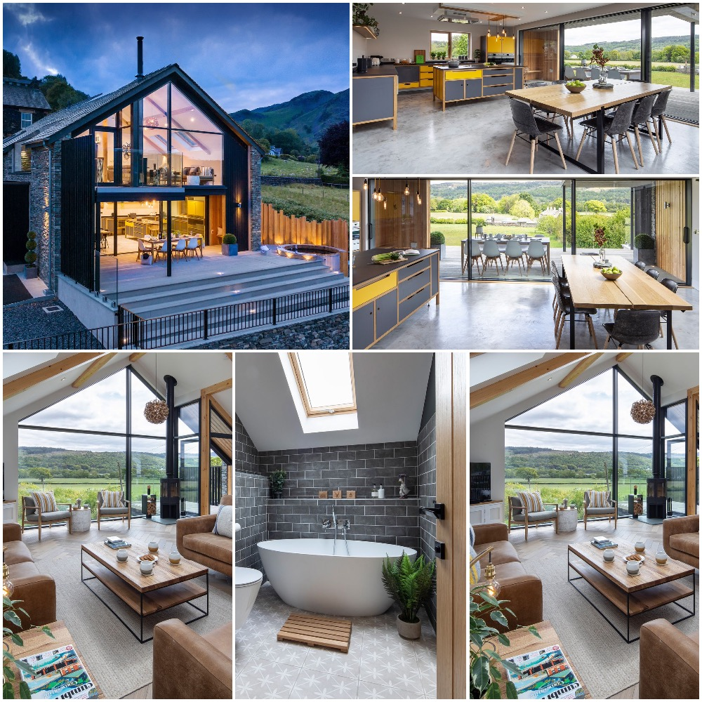Award winning eco-friendly and quit simply luxurious! Sleeps 8