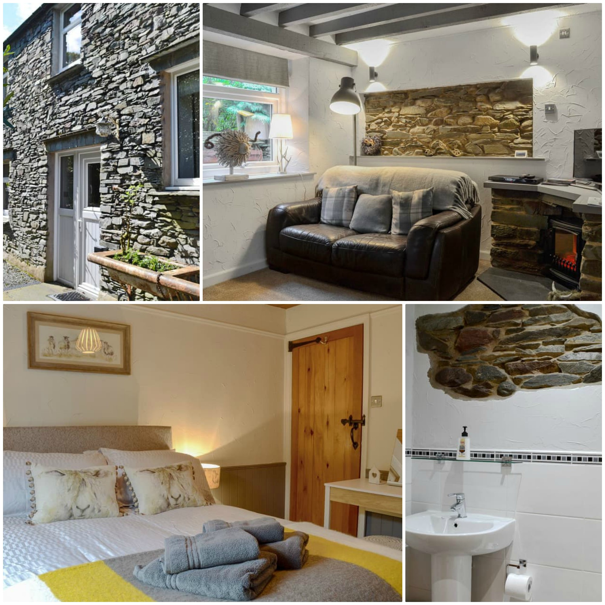 ideal for two couples in the beautiful village of Grasmere
