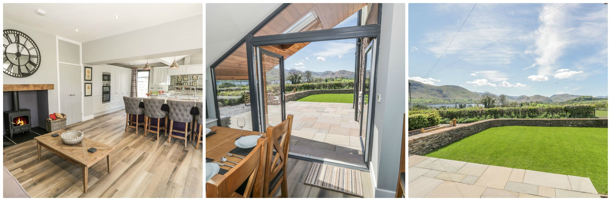 Stunning Lake Views from this fabulous modern Lake District holiday let near Ullswater