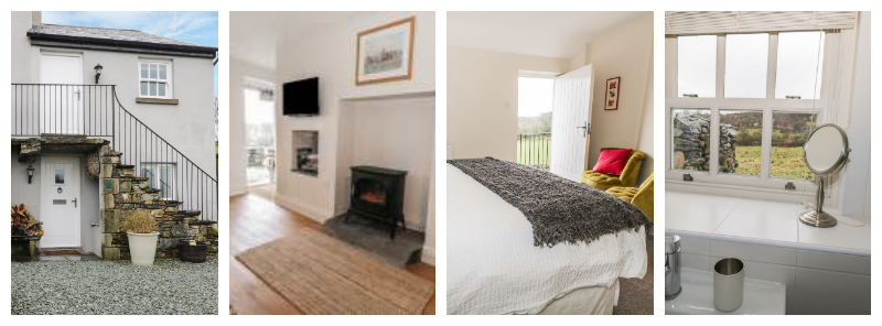 This lovely self catering cottage is ideal for exploring pretty Cartmel and southern Cumbria