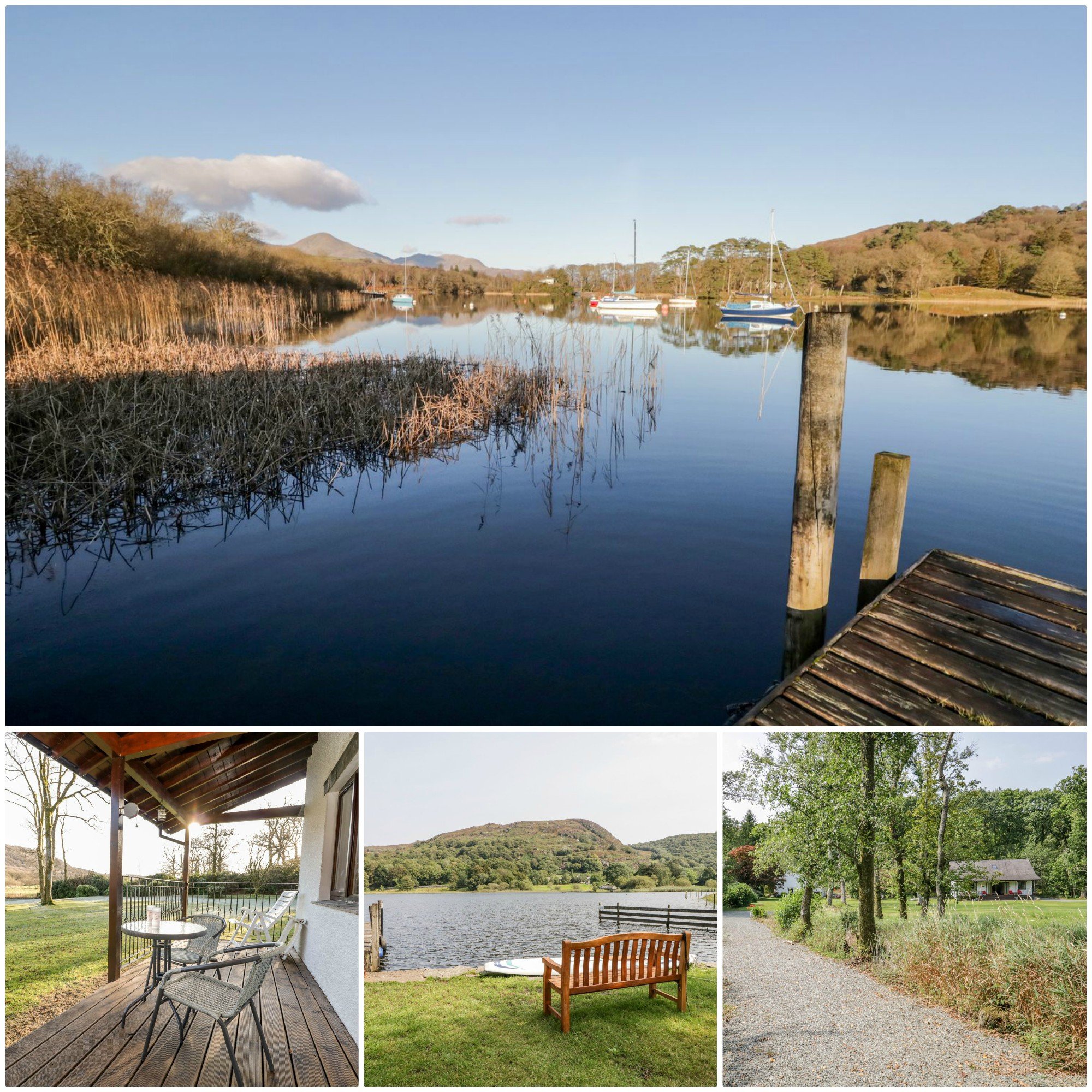 this fabulous ground floor property is pet friendly and has lake access