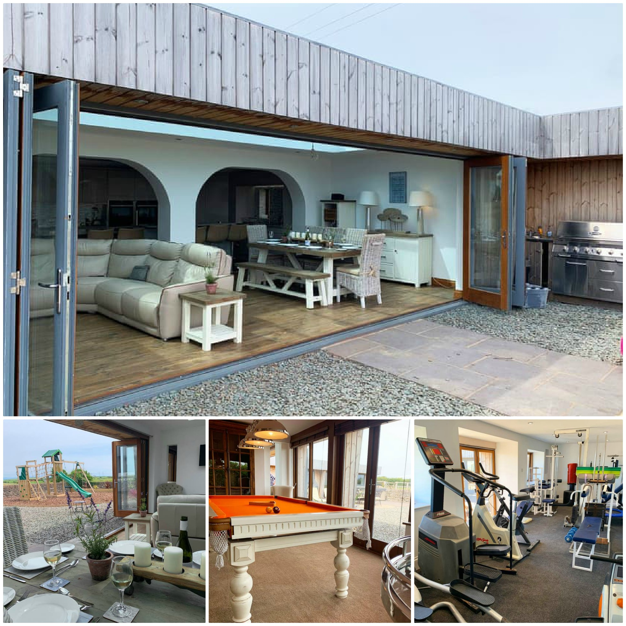 Sleeps 18 - 4 pets allowed (plus stabling available at additional cost)