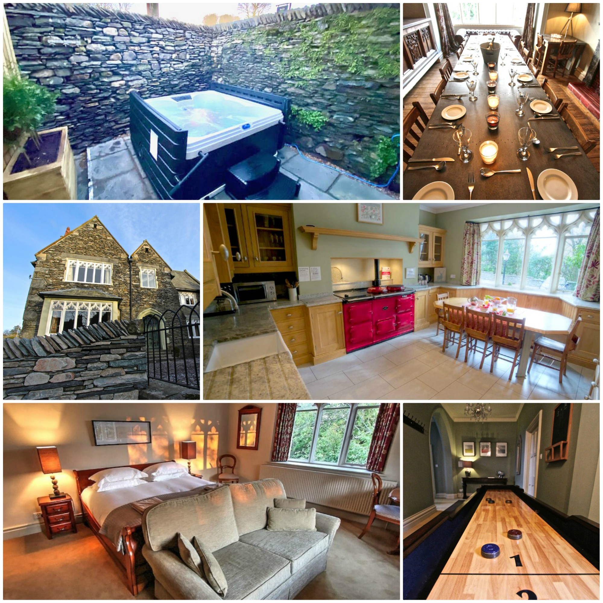 pet friendly Gold award winning large holiday home in Windermere