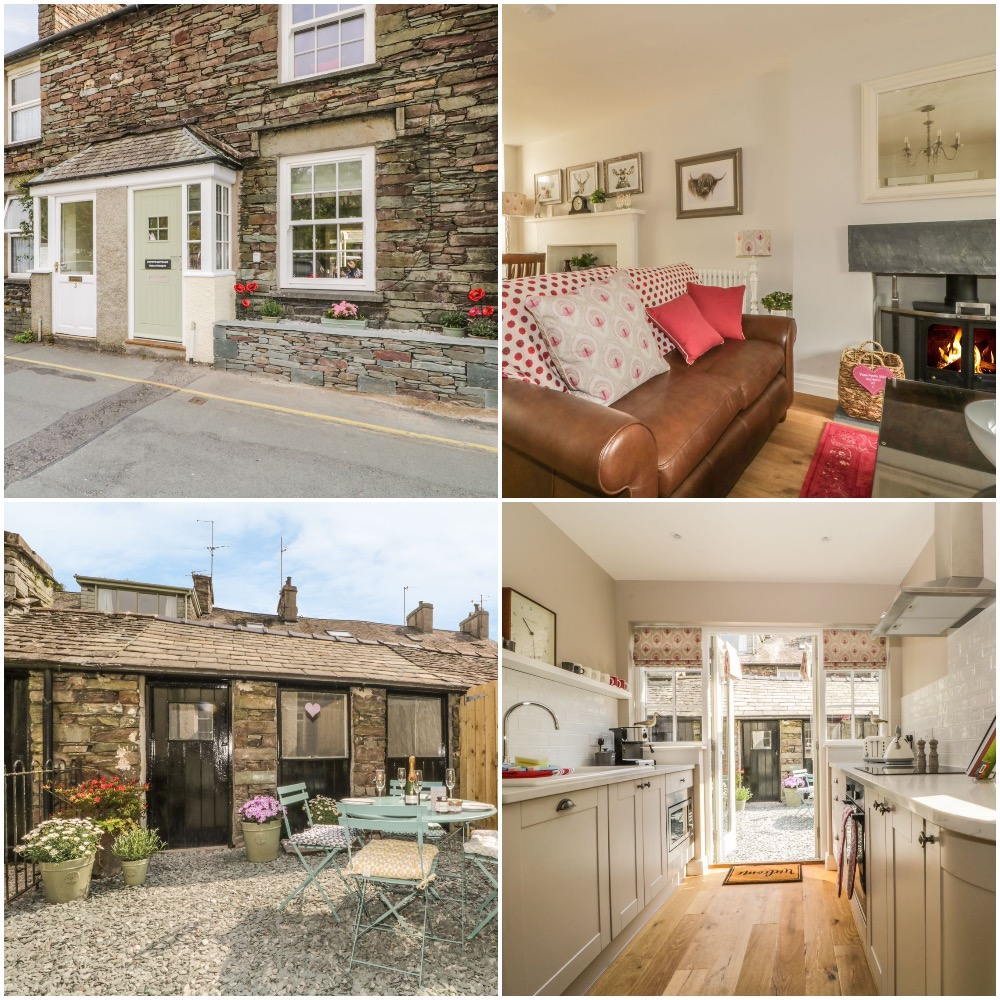 Traditional Cottage in charming Grasmere Sleeps 4 with wood-burning stove