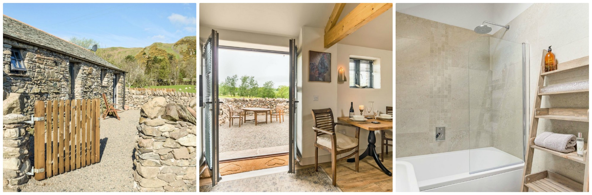 Sleeps 2 and 2 pets allowed - traditional barn conversion with a contemporary feel
