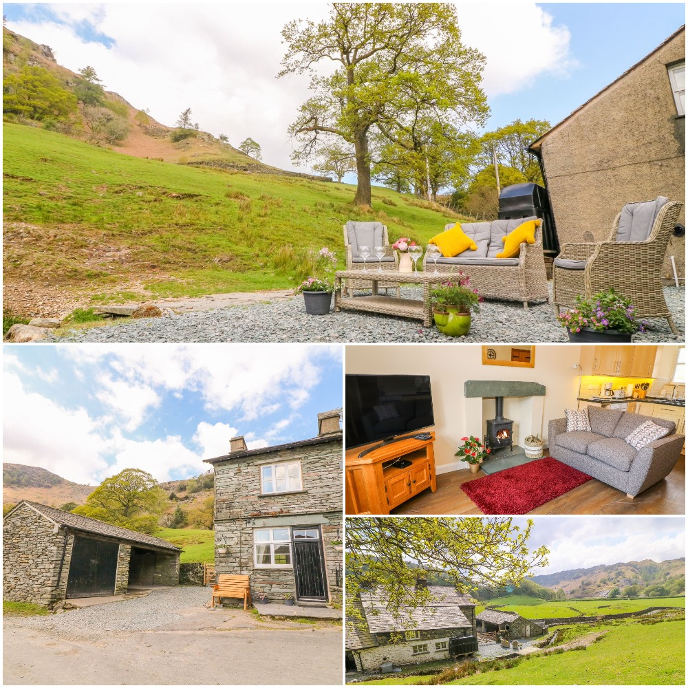 Rural Lake District Self Catering farm cottage with hot tub