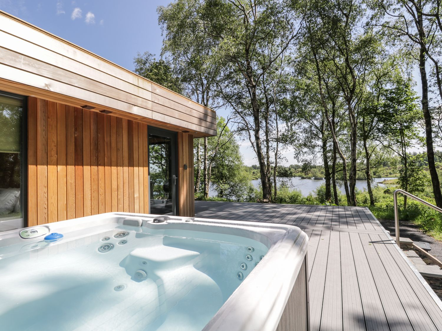 wonderful selection of lodges in Cumbria most of which have their own private hot tub