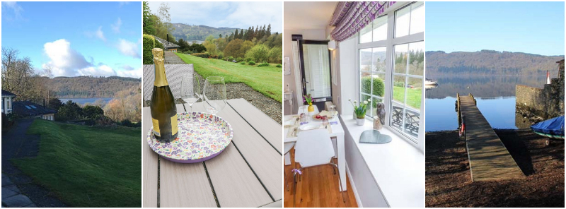 ground floor self catering Windermere with views and lake access