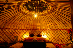 from Glamping to Back to Basics - from romantic to family holiday